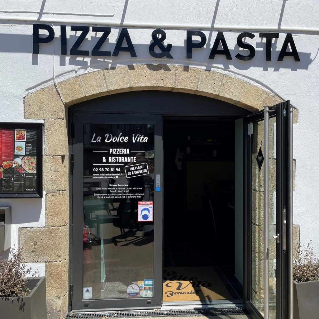 restaurant LA Dolce Vita à benodet vue 2