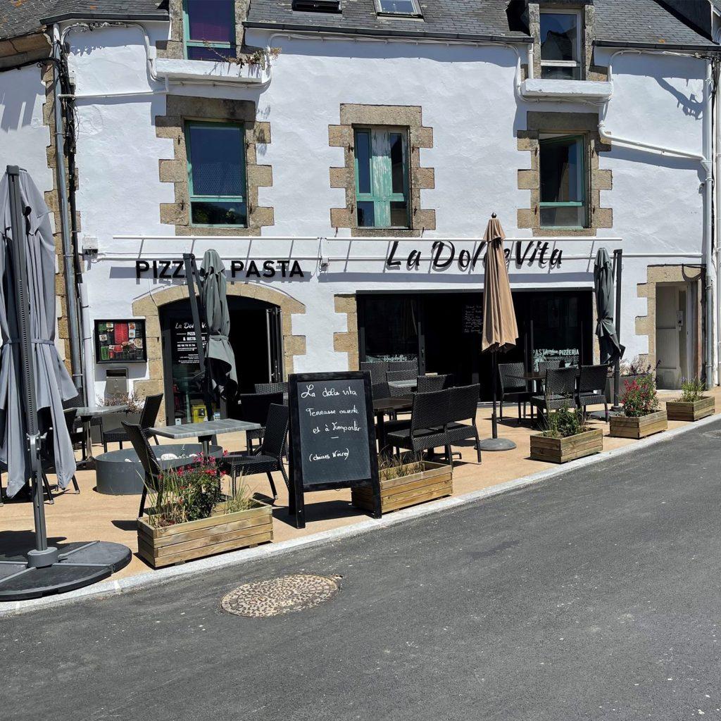 restaurant LA Dolce Vita à benodet