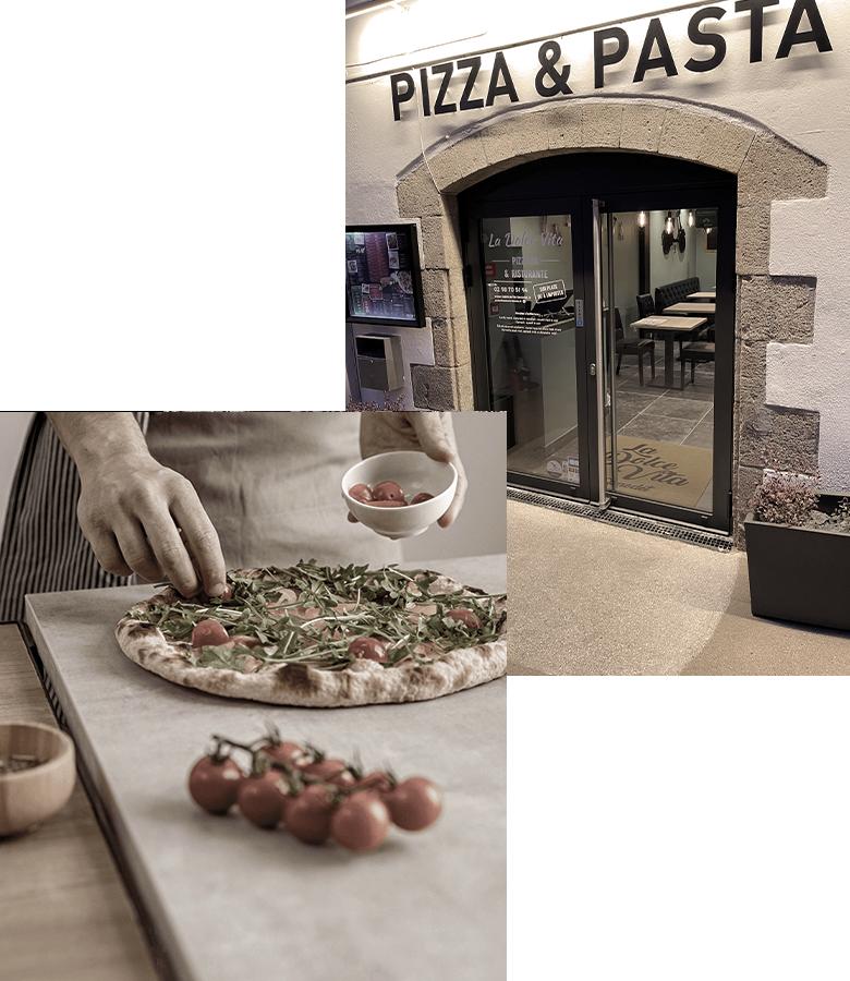 Restaurant italien à Bénodet : Pizza et pâtes